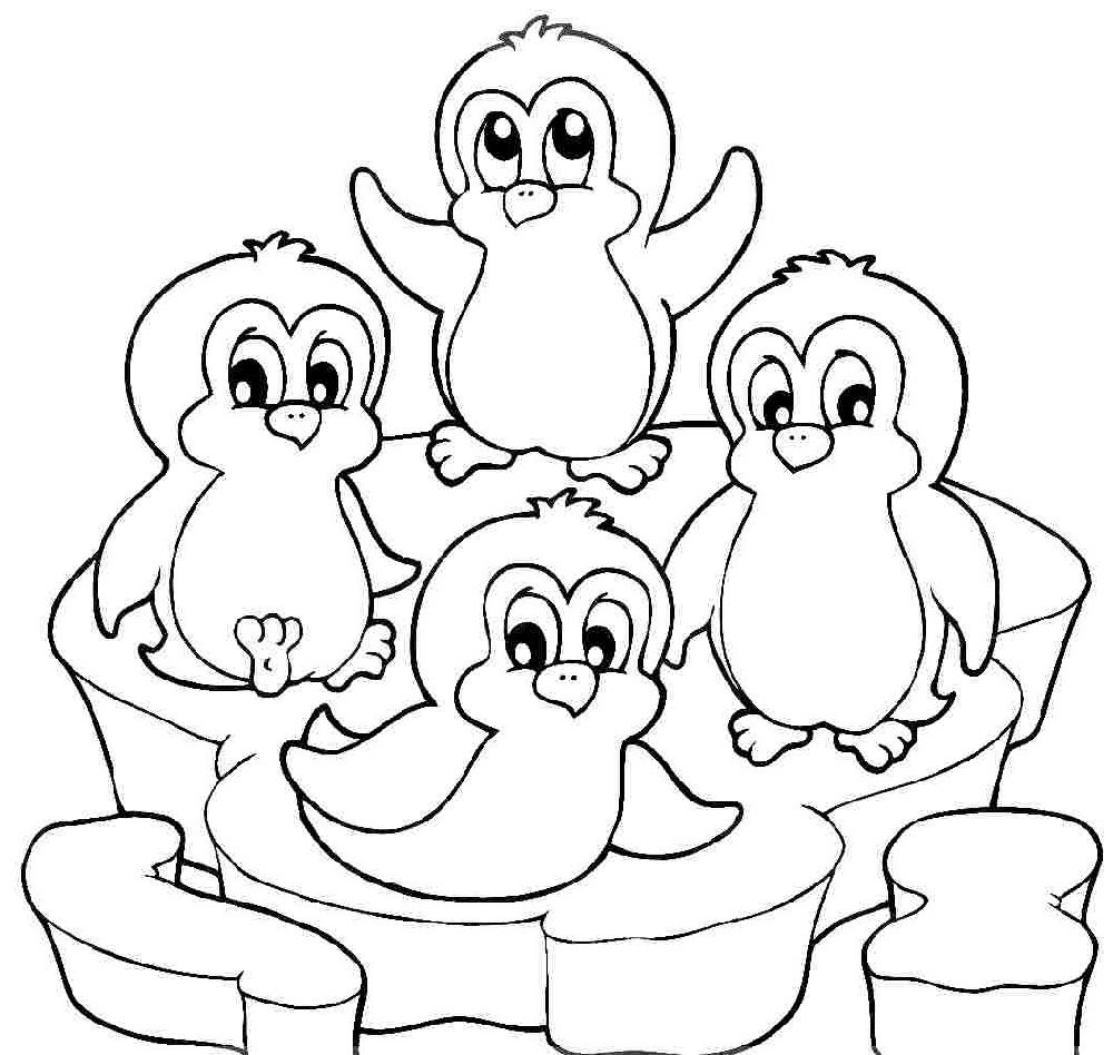 Printable Cute Penguin Coloring Pages Penguin Coloring Pages Penguin Coloring Animal Coloring Pages