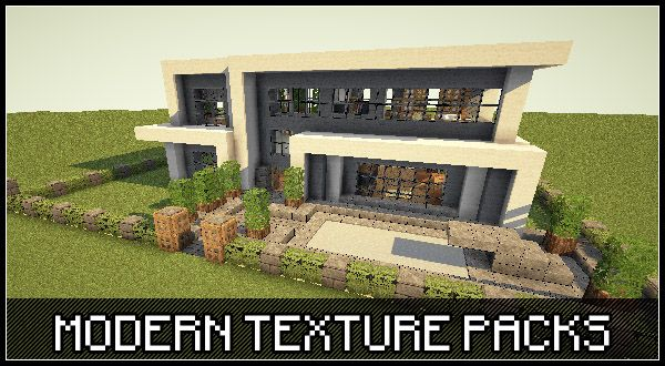 Modern Architecture House Minecraft top minecraft modern texture packs | modern minecraft | pinterest