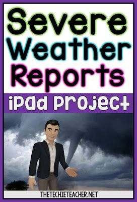Severe Weather Reports iPad Project