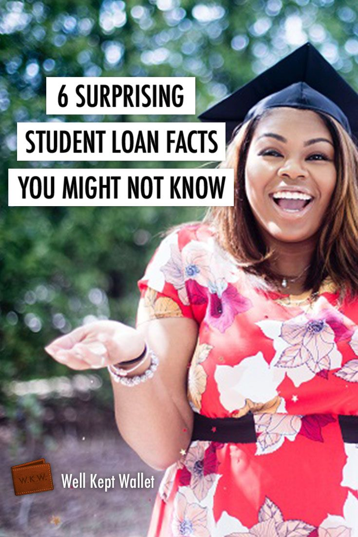 6 Surprising Student Loan Facts You Might Not Know Money Tips