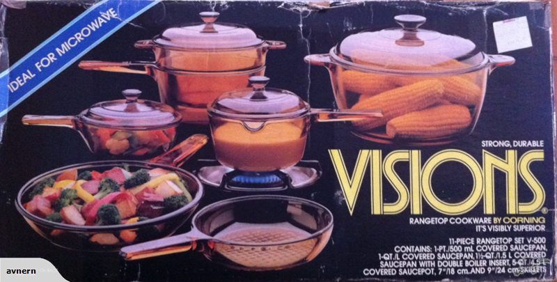 Vintage 1980 S Visions Cookware Set Trade Me With Images