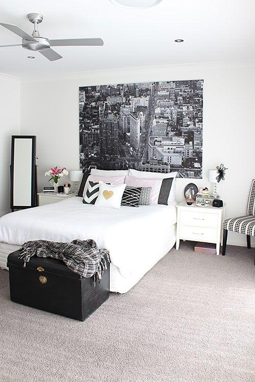 Charming Black Bedroom Ideas, Inspiration For Master Bedroom Designs | Bedrooms |  Pinterest | Monochrome Interior, Monochrome And Bedrooms