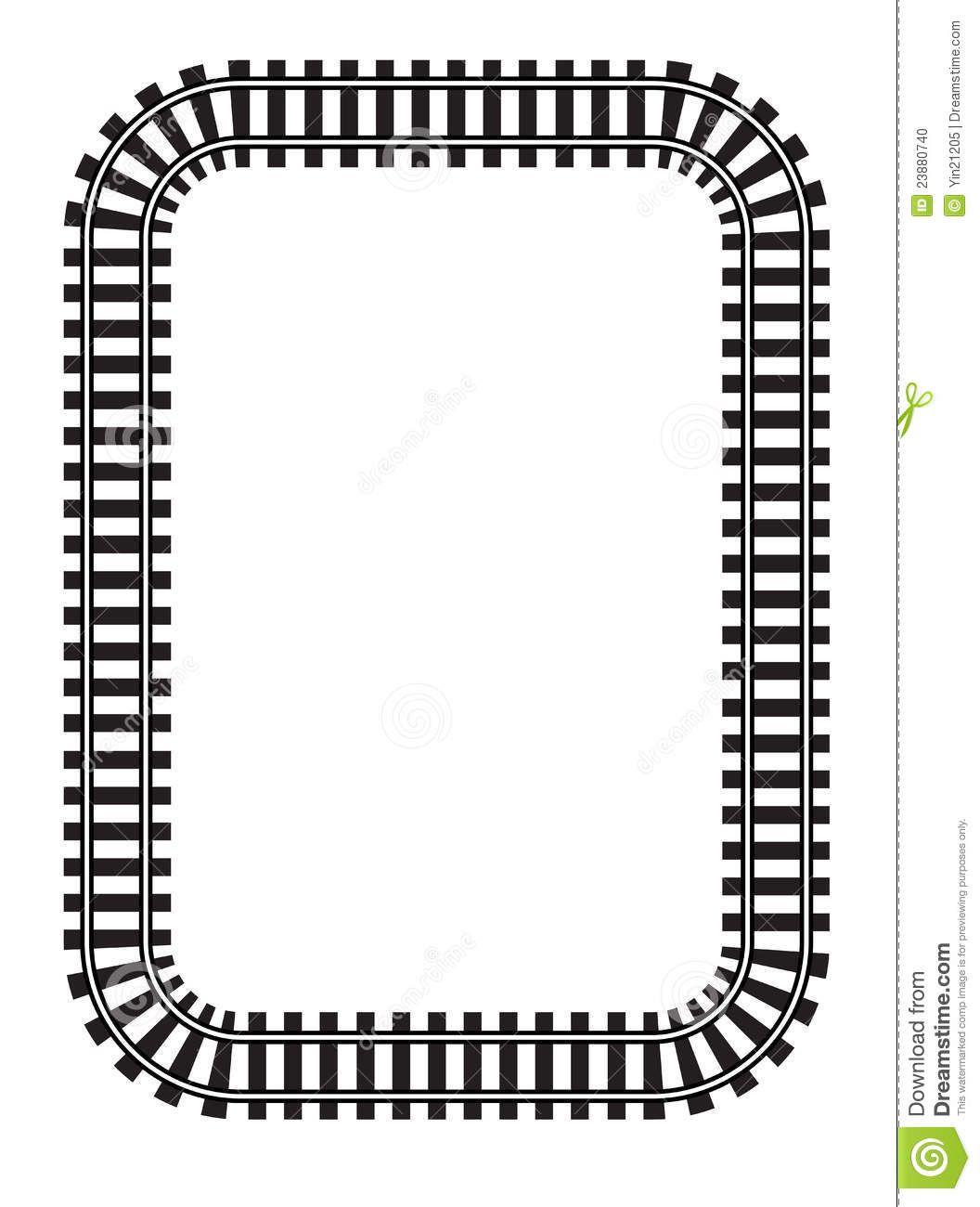 train track clipart google search [ 1056 x 1300 Pixel ]