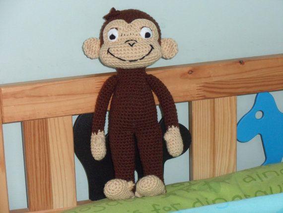 Tejer patrón Juguete para Niños Mono