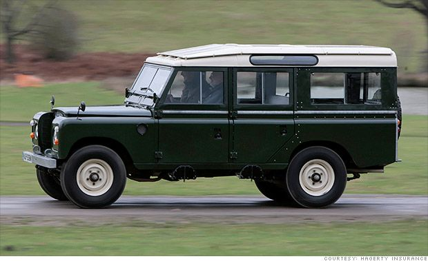 Suvs Become Collectibles Land Rover Land Rover Series Jaguar