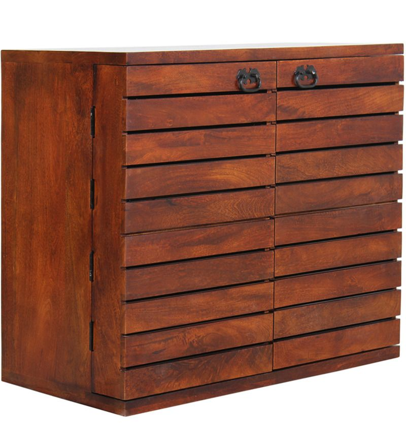 San Jose Solid Wood Bar Cabinet In Colonial Maple Finish With Mudramark By Online