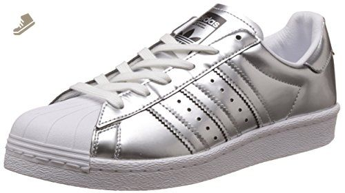 Adidas - Superstar Boost Women Silver Metallic - BB2271 - Color: Silver- White -