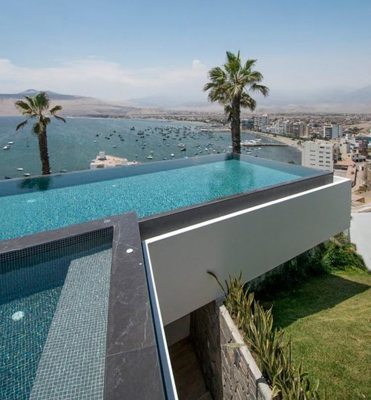 20 Of The Most Incredible Residential Rooftop Pool Ideas Rooftop Pool Oasis Swimming Pool Swimming Pools