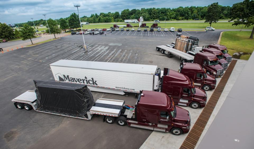 McDonough Georgia Truck Parking Introduction Protected semi