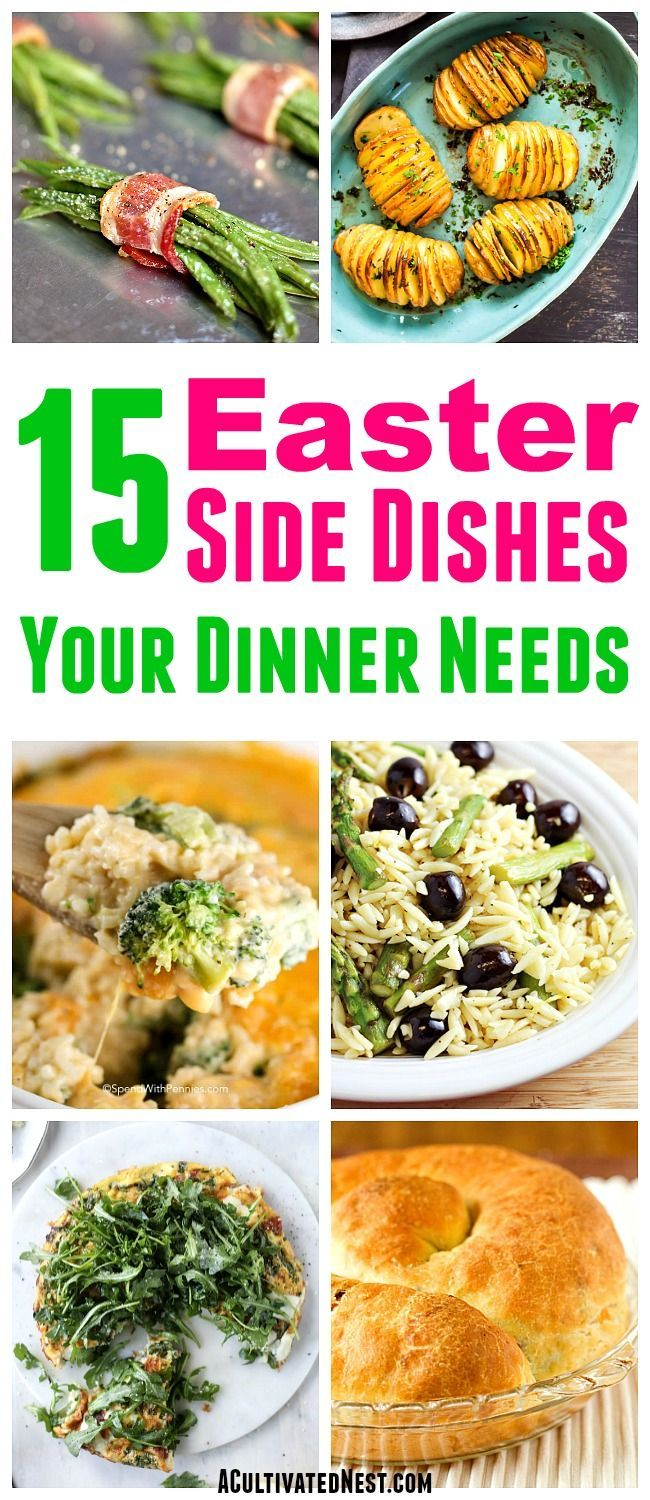 Photo of 15 Must-Try Easter Side Dish Recipes- Your Easter dinner menu won't be complete …