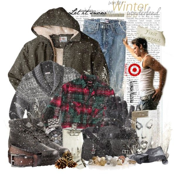 """First Snowfall"" by keti-lady on Polyvore"