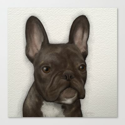 .dexy. Stretched Canvas by kianaleilani - $85.00
