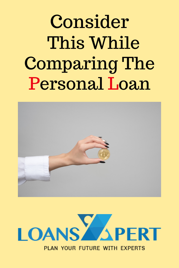 Comparison Of Personal Loan In 2020 Personal Loans Loan Person