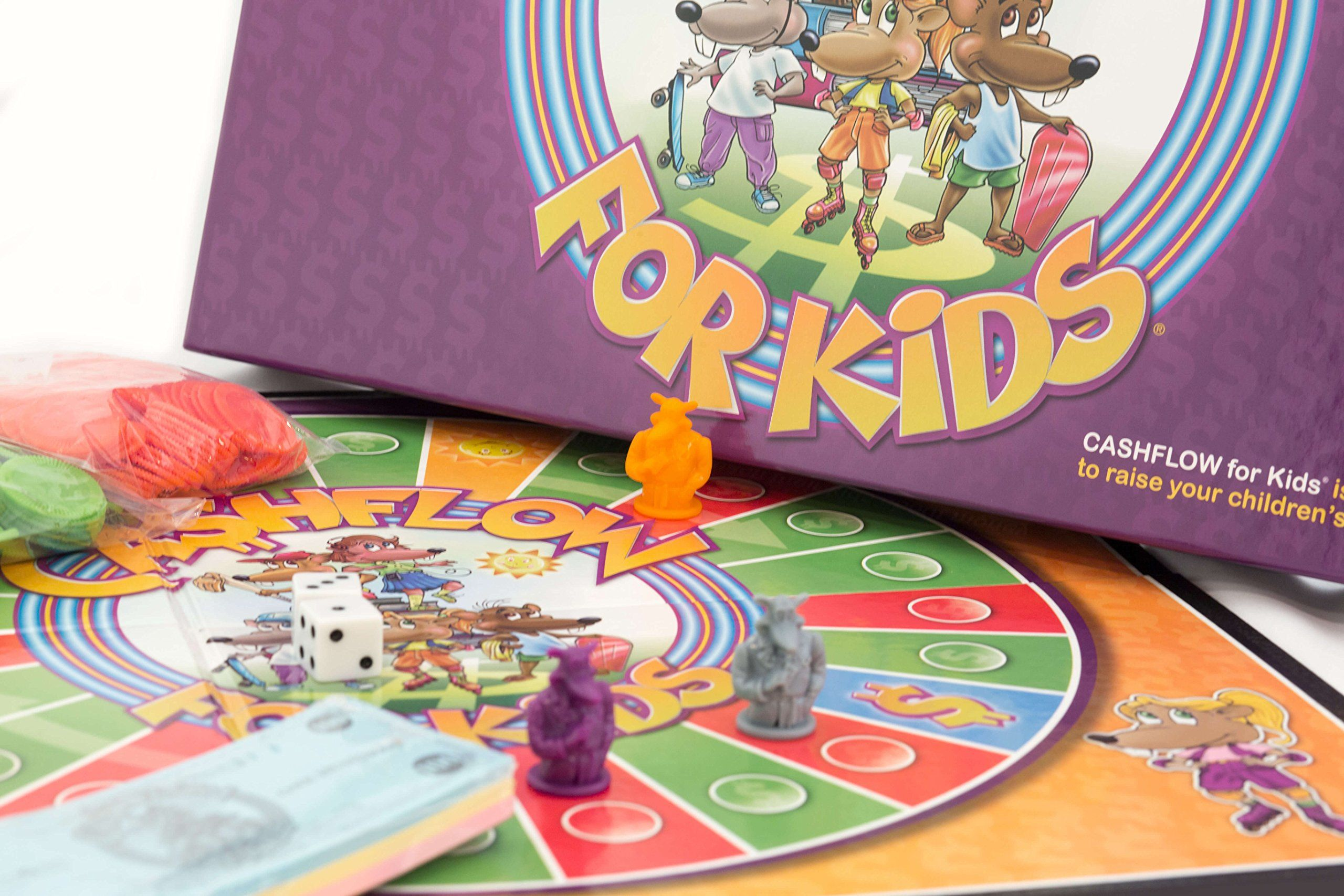 CASHFLOW for KIDS Board Game with Exclusive Bonus Message