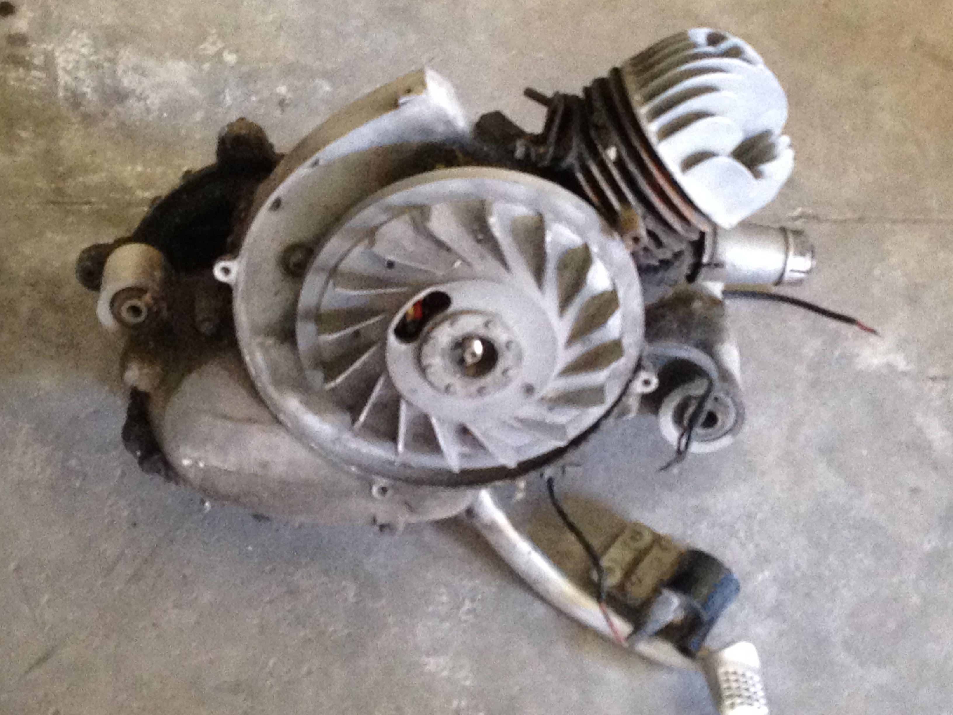 Blocco Motore Vespa 4 Marce V5a4m Blocco Motore Vespa 50