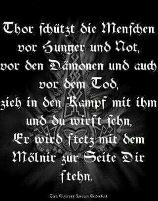 Germanische Gebete