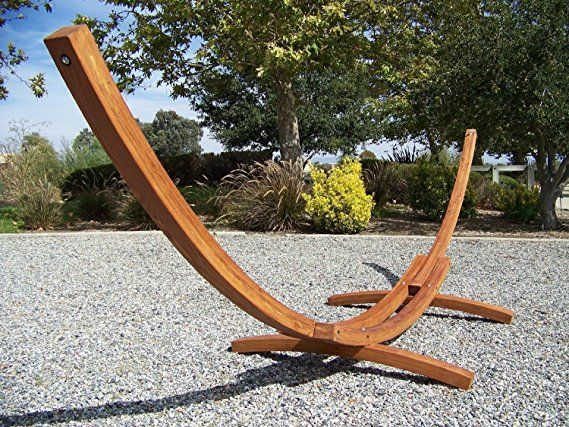 teak make durable stand daybed to how metal with wooden hammock stands