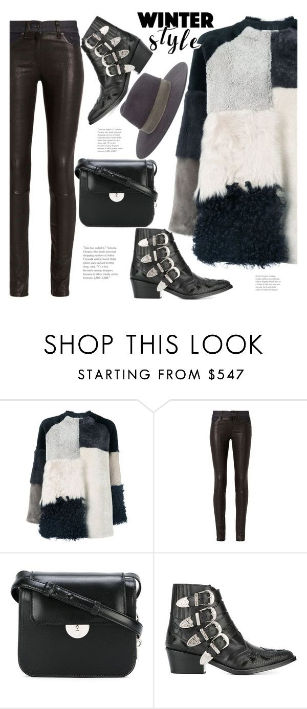 """Winter Style"" by hattie4palmerstone ❤ liked on Polyvore featuring P.A.R.O.S.H., rag & bone, Maison Margiela, Toga and Janessa Leone"