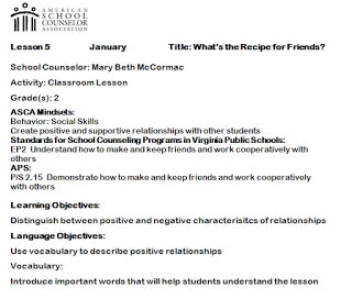 Using Asca Mindsets In Lesson Plans Elementary Counseling Blog