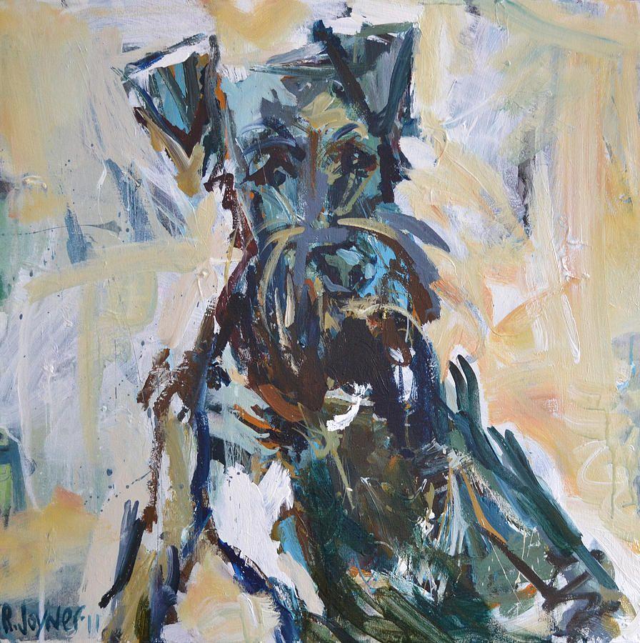 Dog Print Painting - Dog Print Fine Art Print Robert joyner