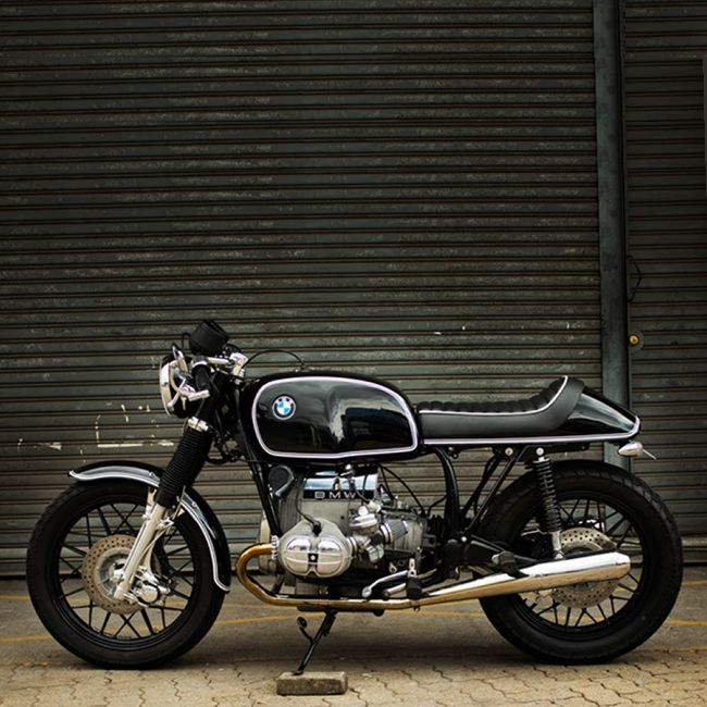 "combustible-contraptions: ""BMW 1000 Cafe Racer """