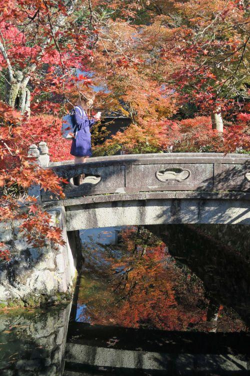 a bridge ,Kyoto
