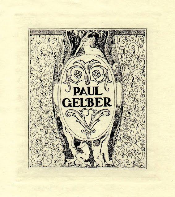 Ex Libris Argentina: Erhard Amadeus Dier. Austria (1893-1969)