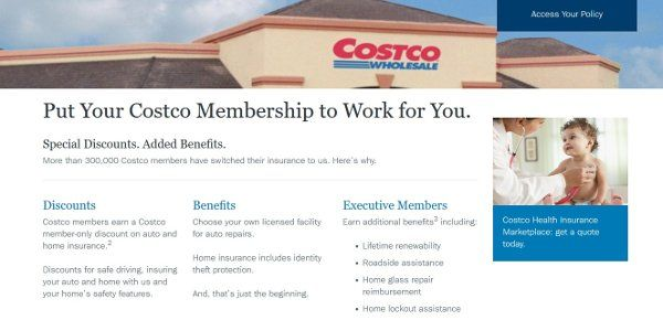 Costco Auto Insurance Review Car Insurance Costco Insurance