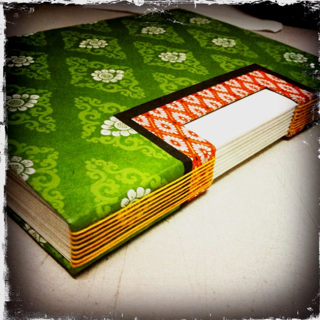 Open spine bookbinding