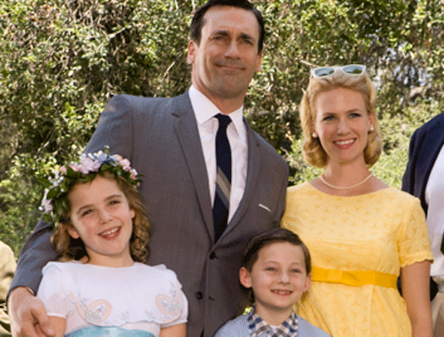 Image result for Mad Men Draper Family