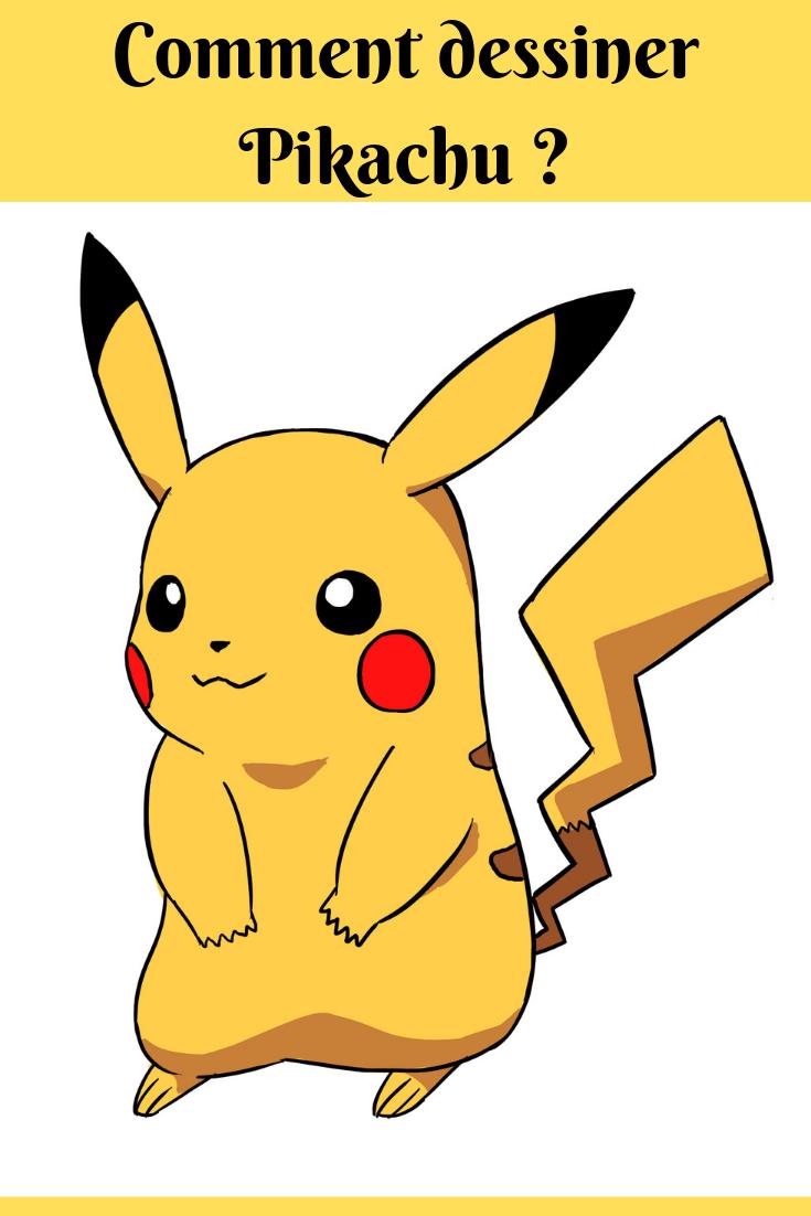 Comment Dessiner Pikachu Dessin Pikachu Comment Dessiner