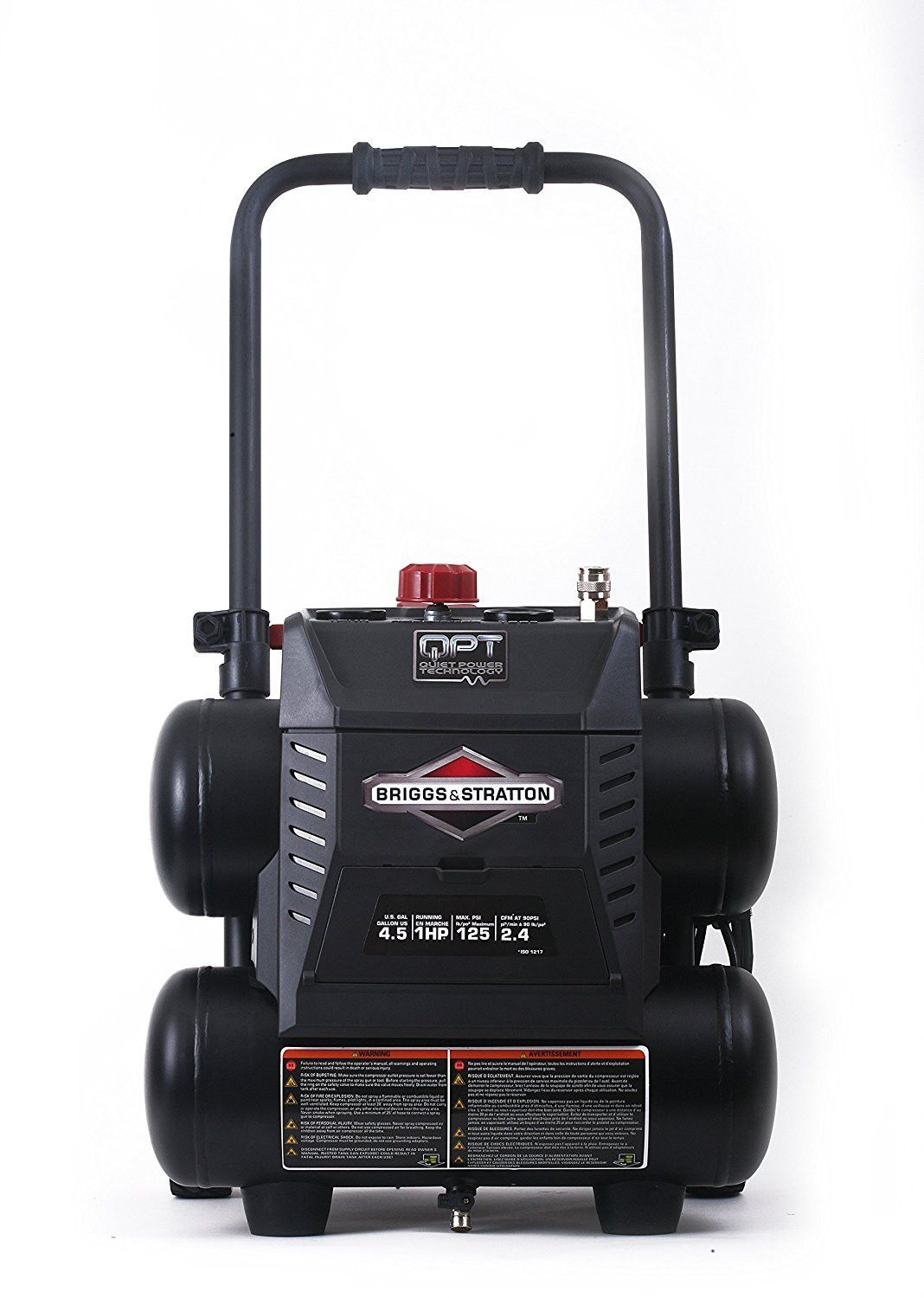 Briggs Stratton 4.5 Gallon Quiet Power Technology Air