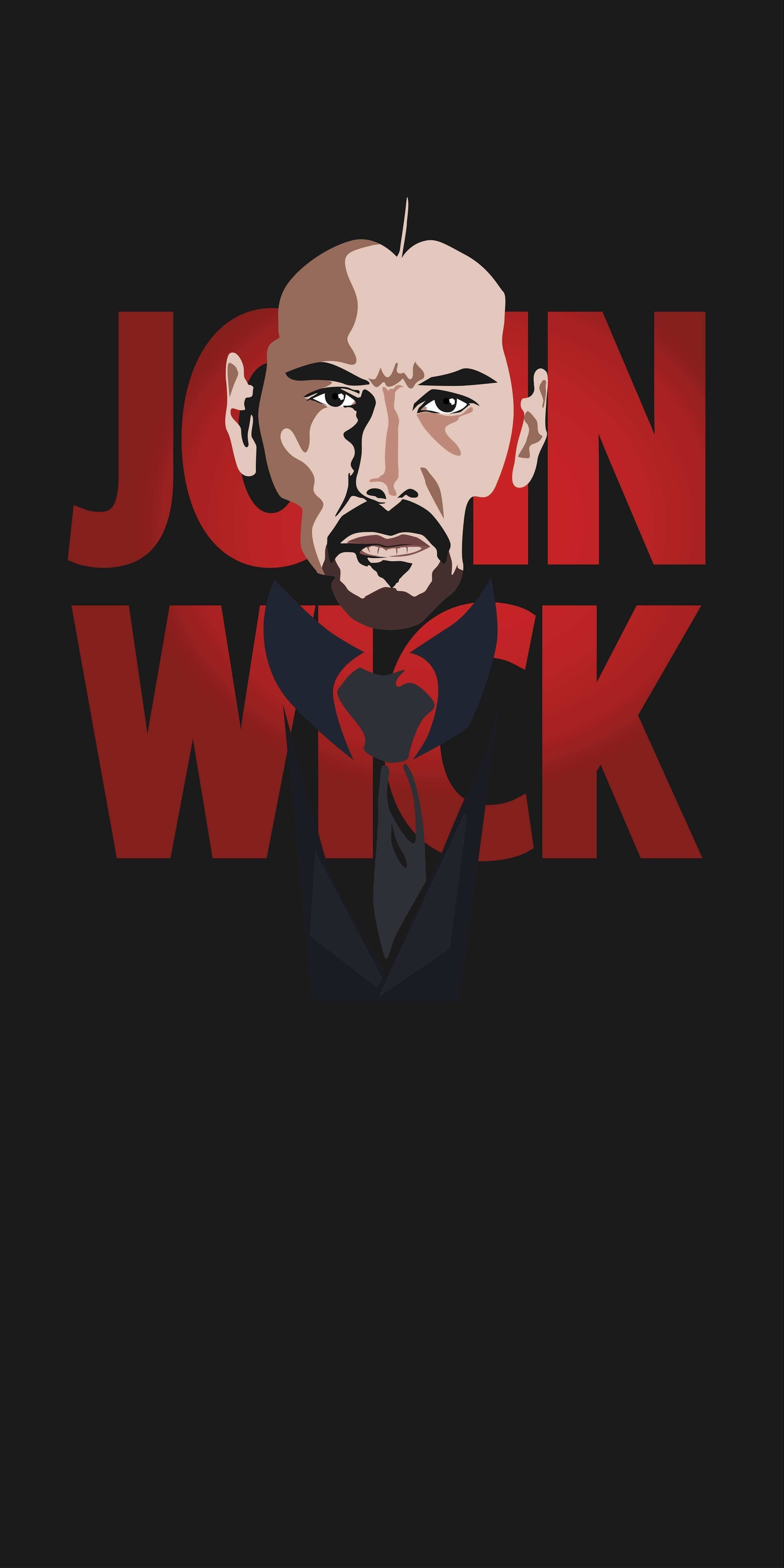 John Wick iPhone Wallpaper 4K in 2020 John wick movie
