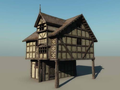 Medieval Half Timbered Shops And Stores Google Search