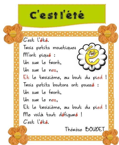 C Est L Ete Comptines Chansons Pour Enfants Enseignement Du Francais