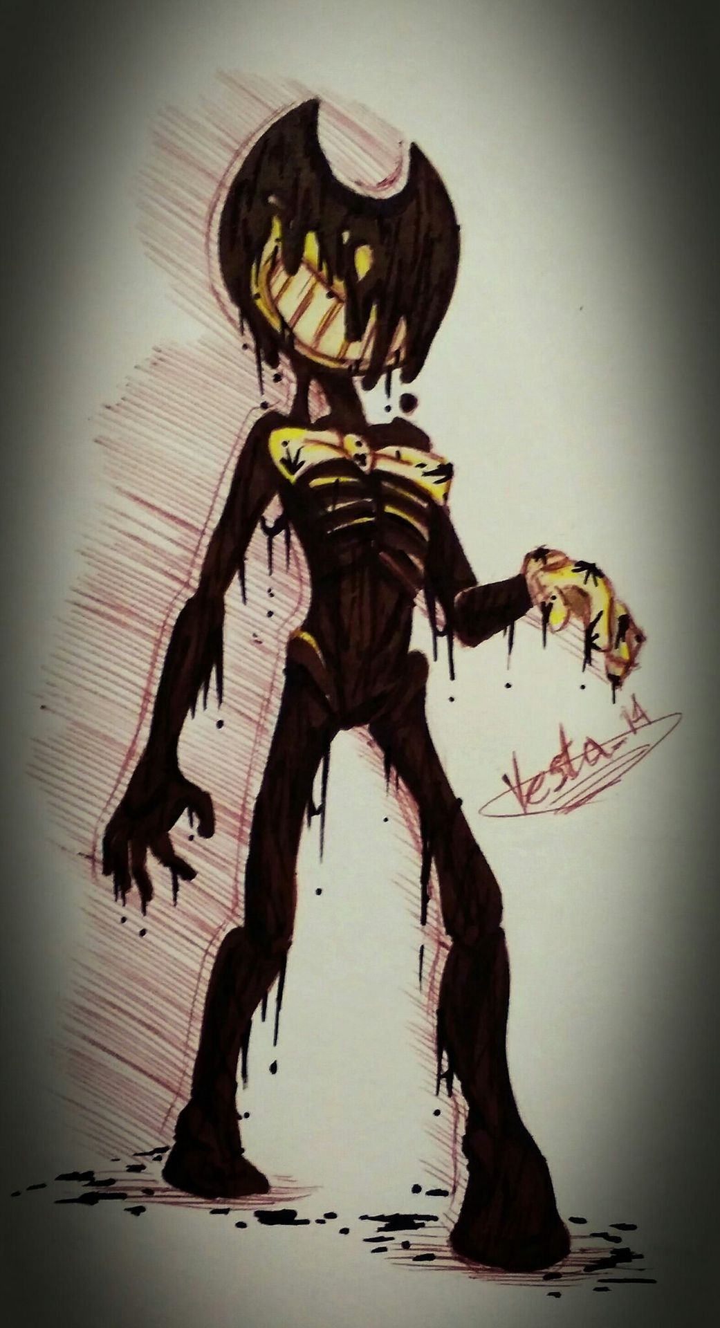 Ink Bendy Images Bendy And The Ink Machine Demon Art Ink