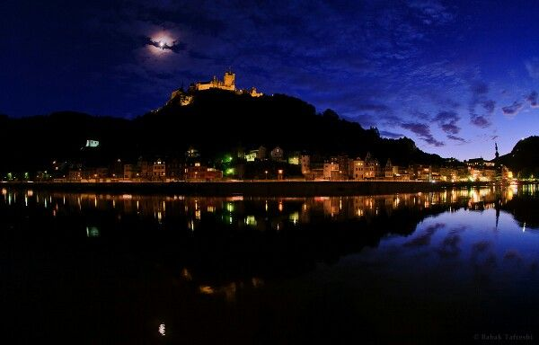 Lunar Corona Over Cochem Castle May 25, 2013 Astronomy