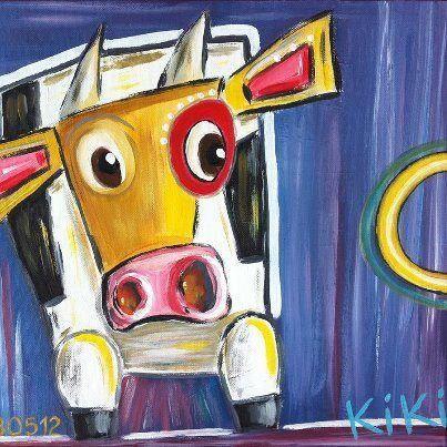 vache art