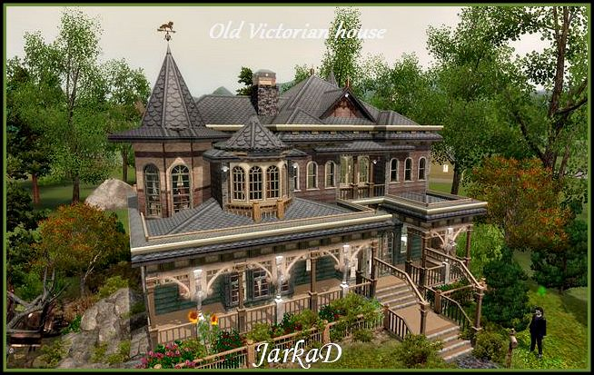 old victorian mansions | old-victorian-house2 | sims | pinterest