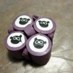 A simple cute sheep polymer clay cane tutorial from FreshStitches