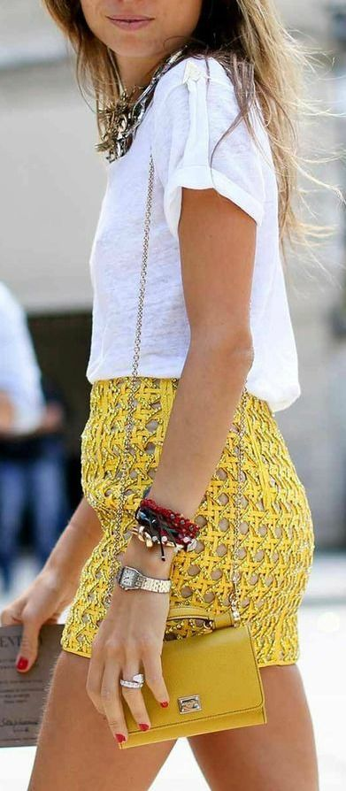 White + Yellow
