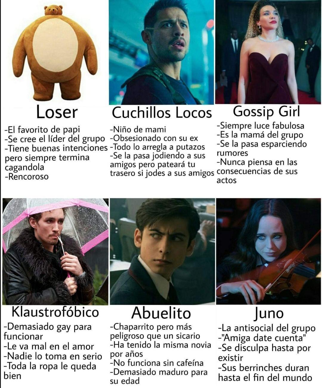 The Umbrella Academy Conversaciones Random Umbrella Funny Umbrella Academy