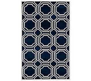 Safavieh Indoor/Outdoor Geometric Tile 5' x 8'Area Rug