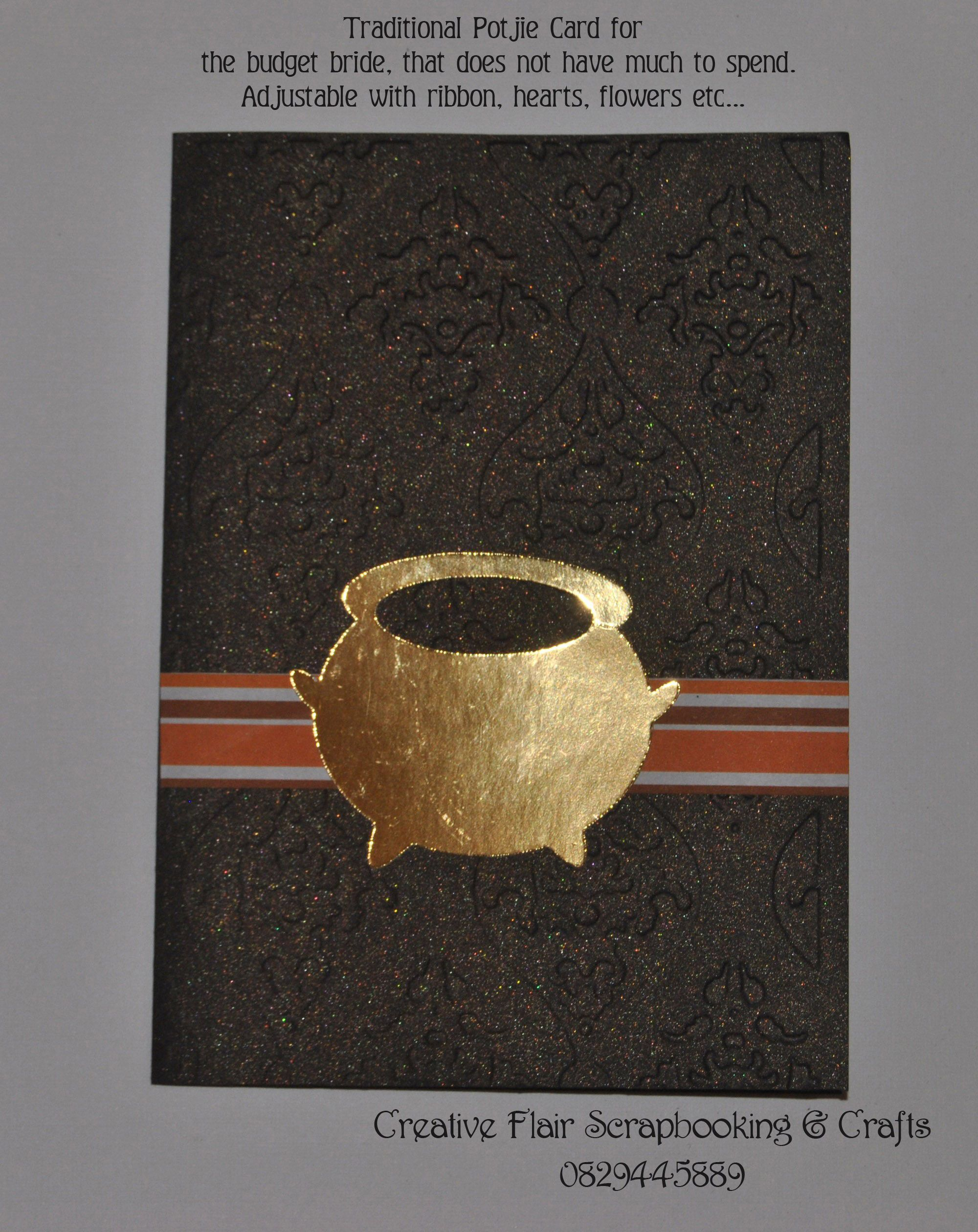 Traditional Zulu Potjie Card Wedding Or Other Invitation Can Be