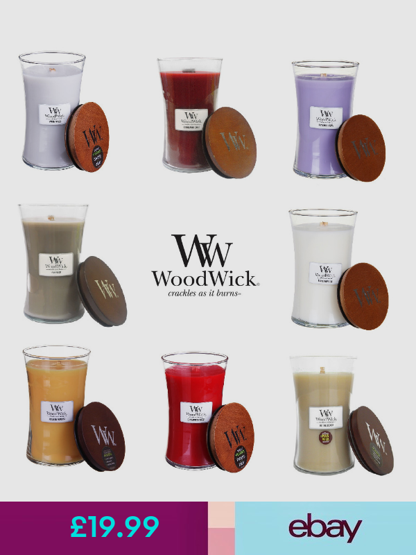 WoodWick Candles Home, Furniture & DIY (With images ...