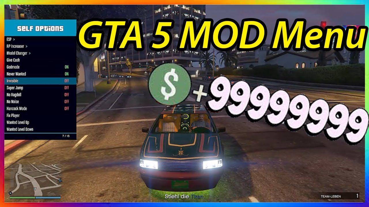Gta 5 online mod menu 134 money glitch rp glitch best mod