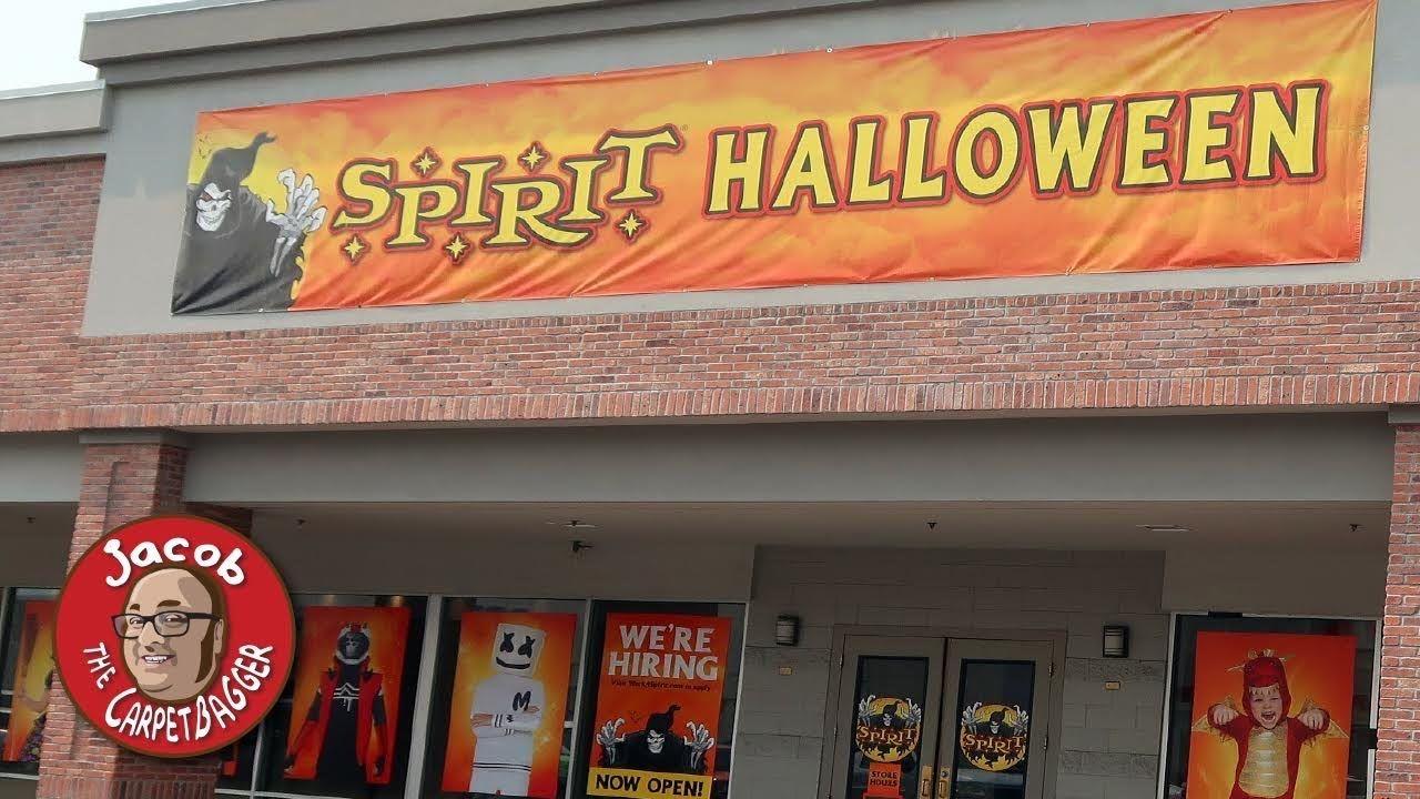 Spirit Halloween Store 2020! YouTube in 2020 Halloween