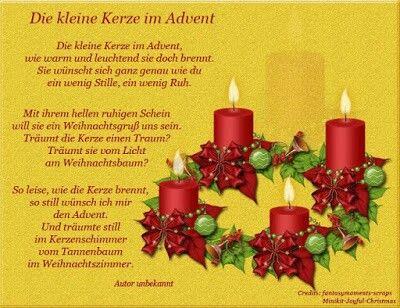 Gedicht Weihnachten Weihnachtsgedichte Und Weihnachtssprüche