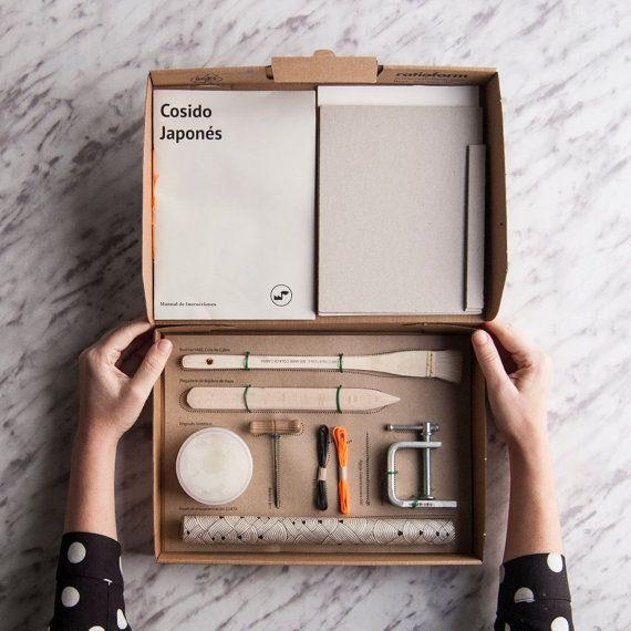 kit de reliure couture japonaise par texturesfactory sur etsy to buy pinterest couture. Black Bedroom Furniture Sets. Home Design Ideas
