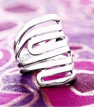"""Modern Maze"" ring! $67"